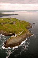 Old Head of Kinsale, aerial photo from the south.